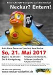 Neckar? Entern! Demo auf dem Neckar | Kirchheim/N.