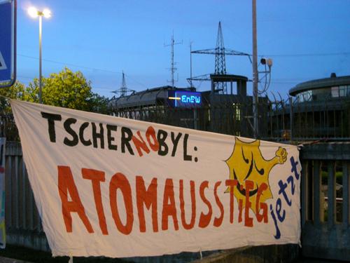 Weiterlesen: 24 Jahre Tschenobyl - Atomausstieg jetzt!